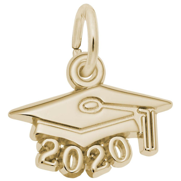 2020 Small Graduation Cap, Engravable