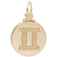 Gemini / 22k Gold Plate on Silver