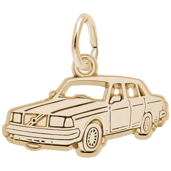 Rembrandt Charms, Mid-Size Luxury Car, Engravable