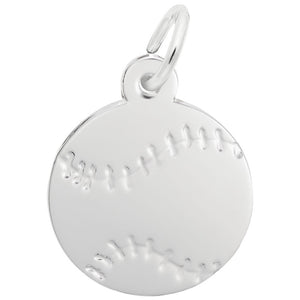 Rembrandt Charms, Baseball, Engravable