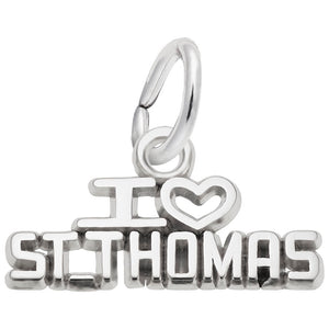 Rembrandt Charms, I Love St. Thomas