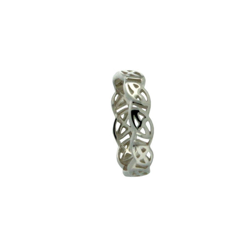 Eternity Knot Lomond Ring, Sterling Silver