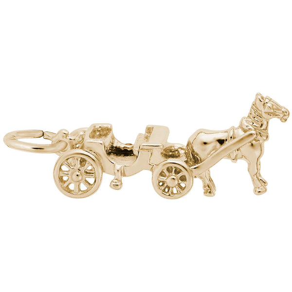 Rembrandt Charms, Horse Drawn Carriage