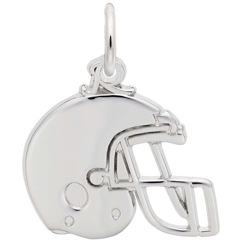 Rembrandt Charms, Football Helmet, Engravable