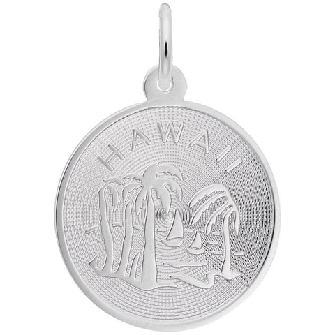 Hawaii Palm Tree, Engravable