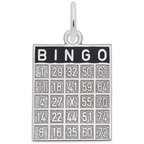 Rembrandt Charms, Bingo Card, Engravable
