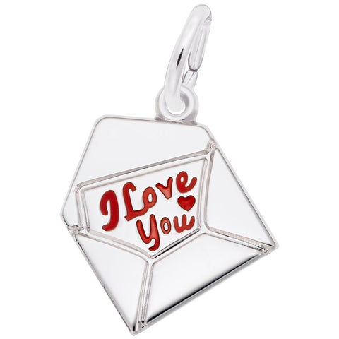 Rembrandt Charms, Love Letter, Engravable