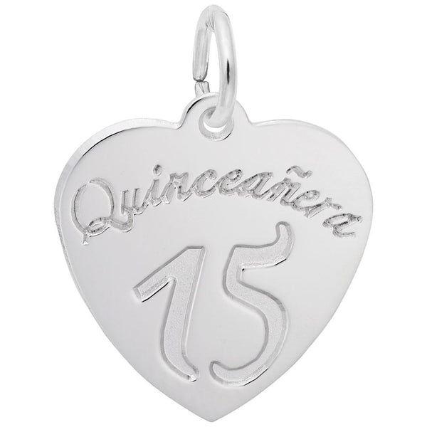 Rembrandt Charms, Quinceanera, Engravable