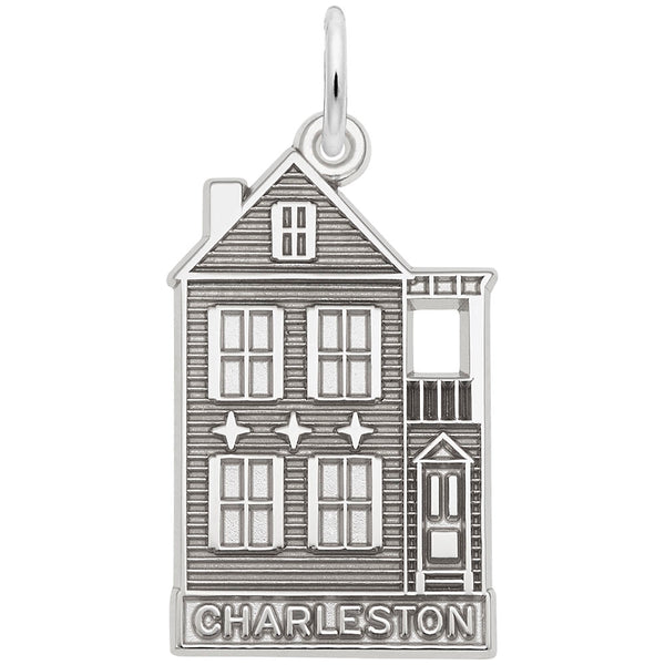 Rembrandt Charms, Charleston Row House, Engravable