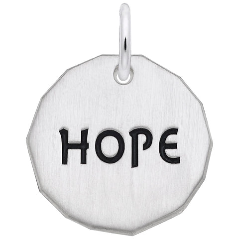 Hope Tag, Engravable
