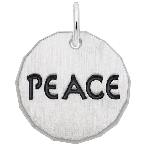Peace Tag, Engravable