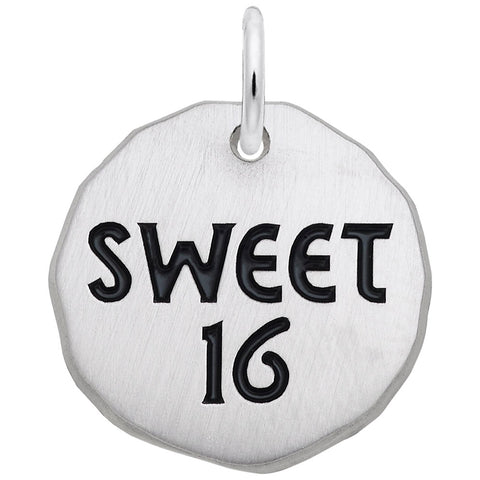Sweet 16 Tag, Engravable