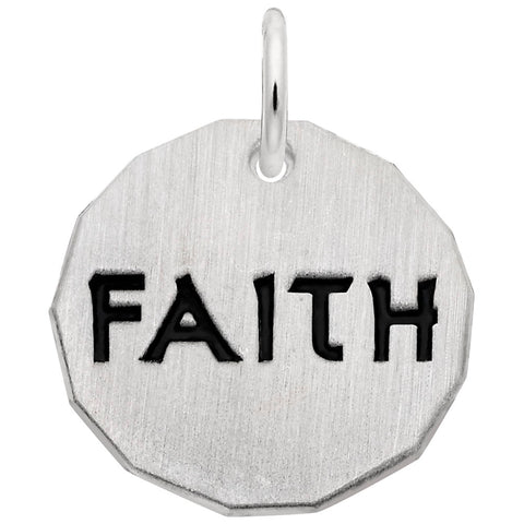 Faith Tag, Engravable