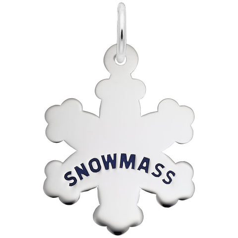Snowmass Snowflake, Engravable