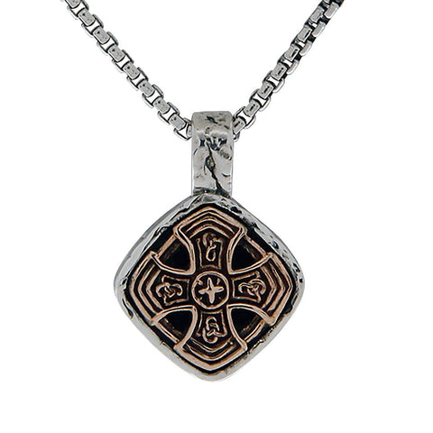 Celtic Cross Cushion Necklace