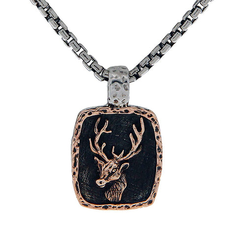 Stag Deer Necklace