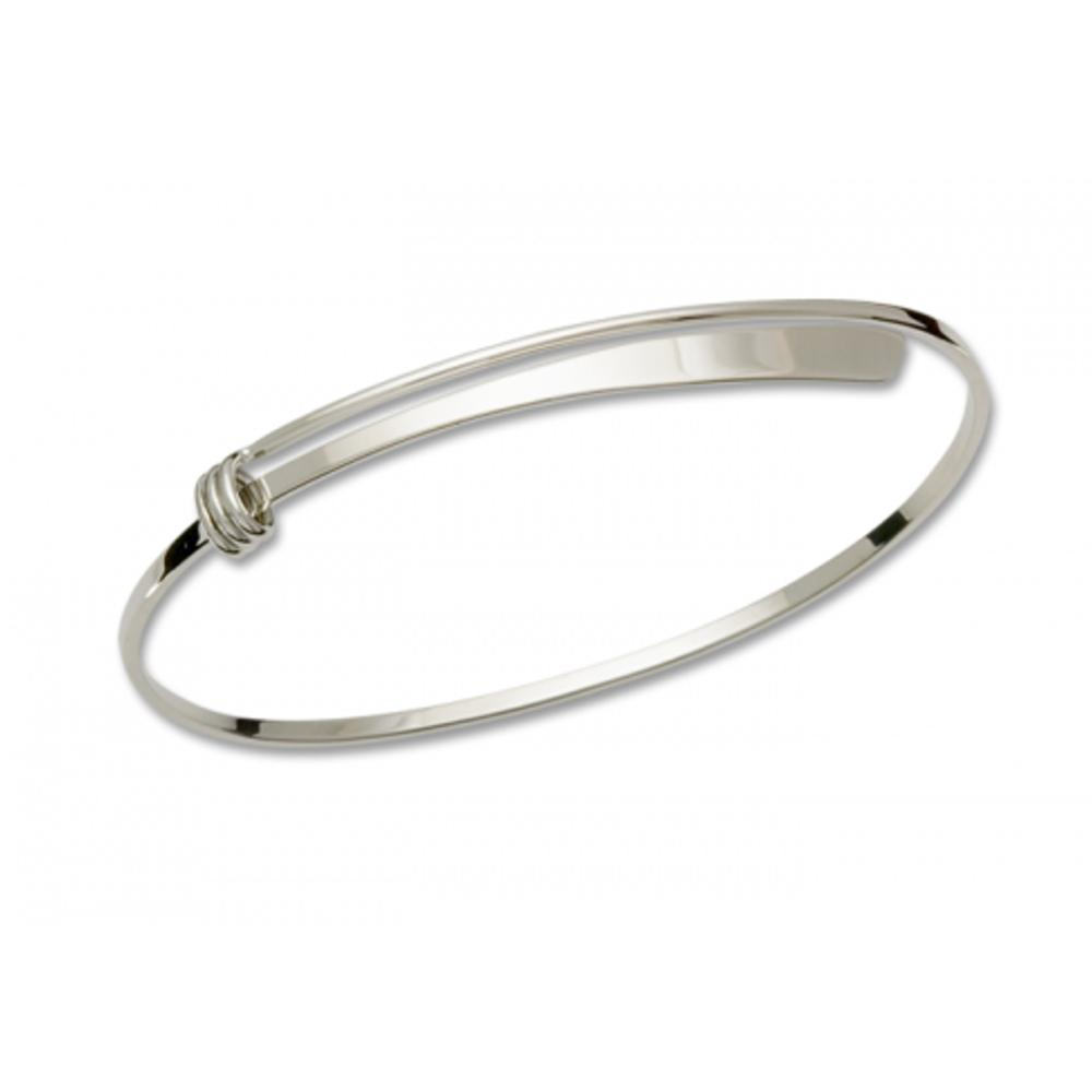 Ed Levin Jewelry-Bracelet-Petite Slide, Polished, Sterling Silver