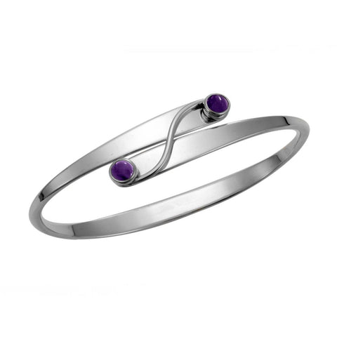 Grand Swing, Amethyst, Sterling Silver