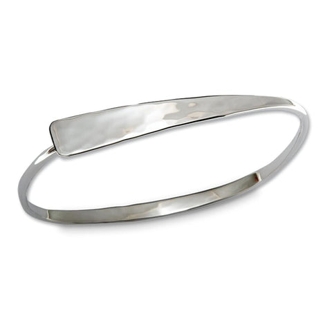Ed Levin Jewelry-Bracelet-Squircle Flip Small, Sterling Silver