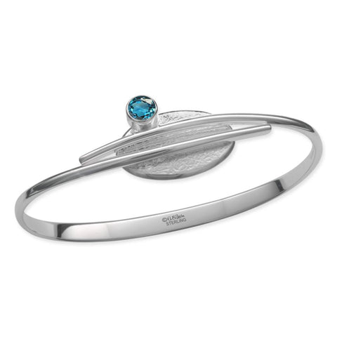 Trill, Blue Topaz, Sterling Silver