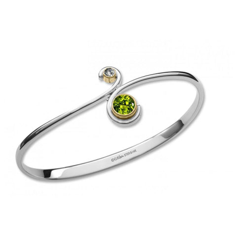 Tango, Peridot, Sterling Silver & 14k Gold Accent