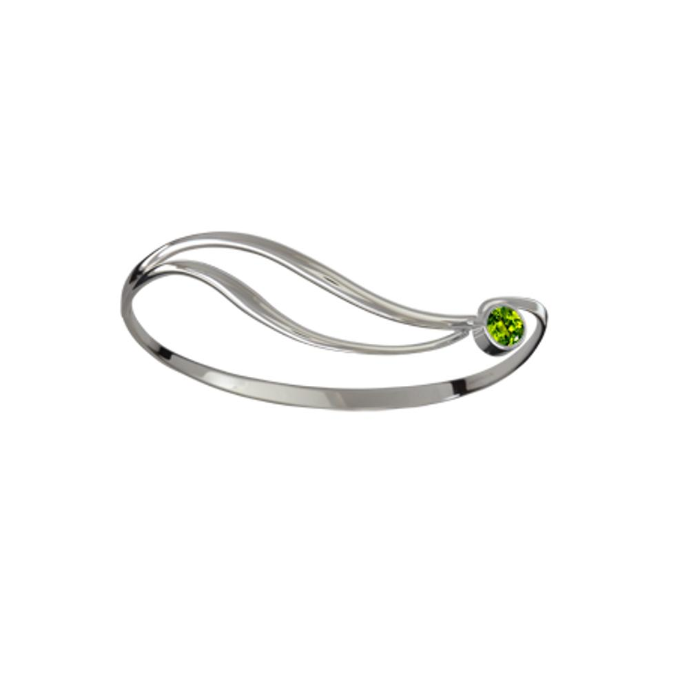 Ed Levin Jewelry-Bracelet-Shooting Star, Peridot, Sterling Silver