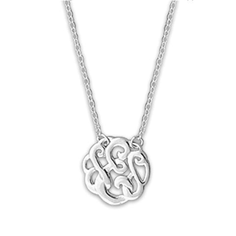 Monogram Letter E Necklace-teklaestelle