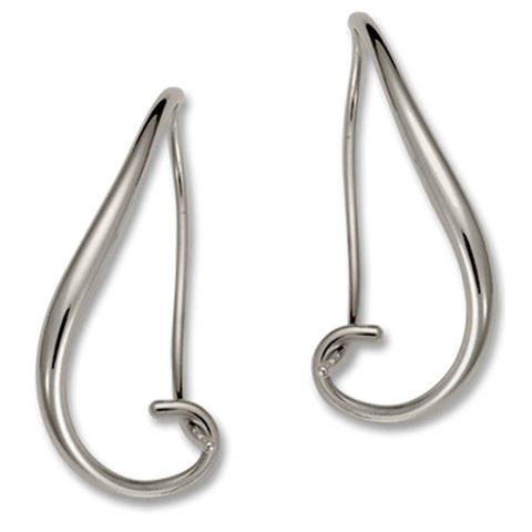 Napa Earrings, Sterling Silver