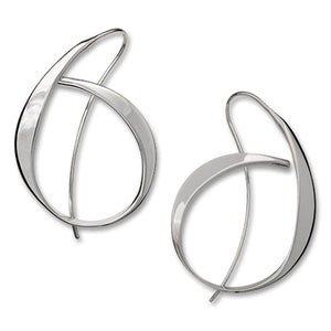 Ed Levin Jewelry-Earring-Allegro, Sterling Silver