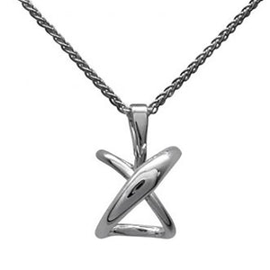 E.L. Designs by Ed Levin Studio - Secret Heart Pendant, Sterling Silver-Necklace-teklaestelle