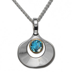 Blue Topaz Dawn Necklace