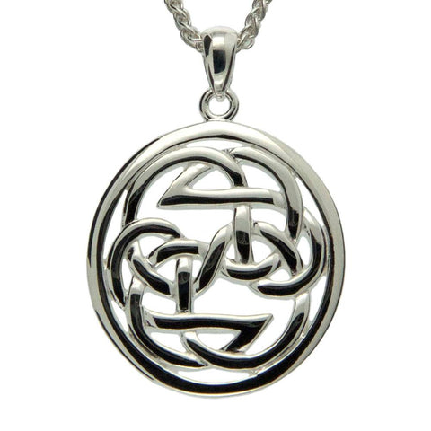 Keith Jack Jewelry-Lewis Knot - Path Of Life Necklace, Sterling Silver