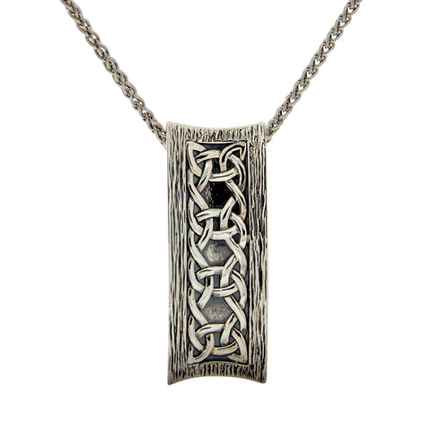Scavaig Necklace, Oxidized Sterling Silver