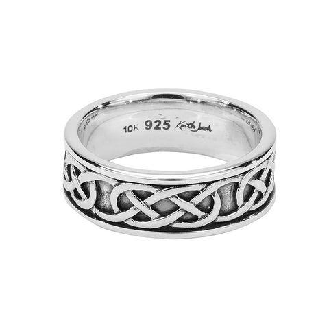 Love Knot Ring, Sterling Silver