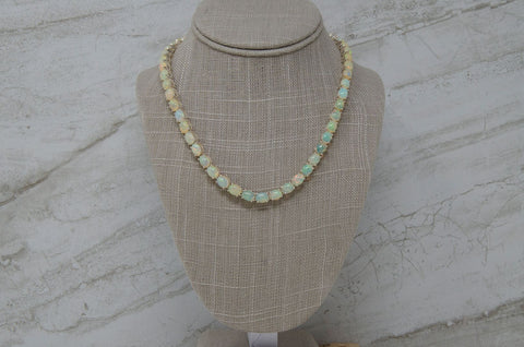 Ethiopian Opal Necklace