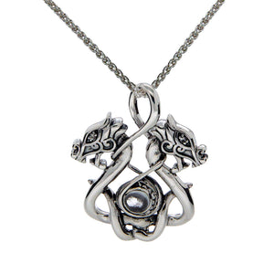 Double Headed Dragon Necklace