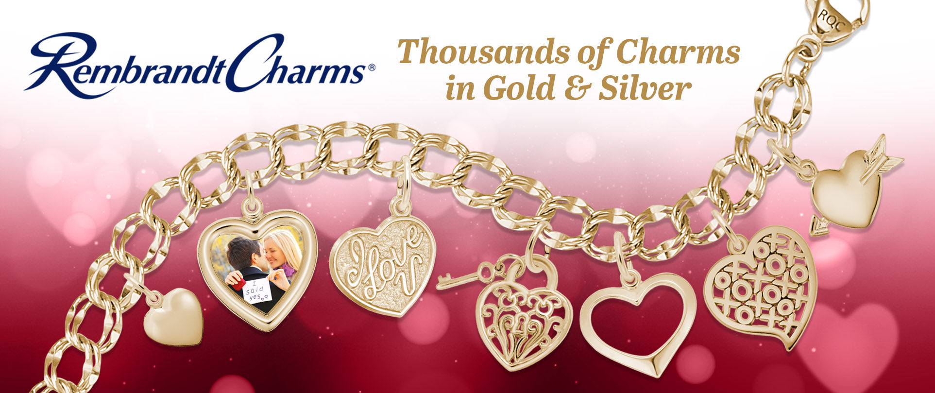 Engrave a Special Message! Thousands of Rembrandt Charms in Silver and Gold. Click to see Tekla Estelle's Engravable Collection!