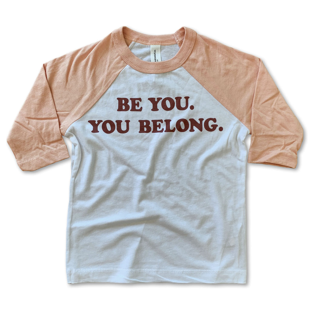 Be You Baseball Tee