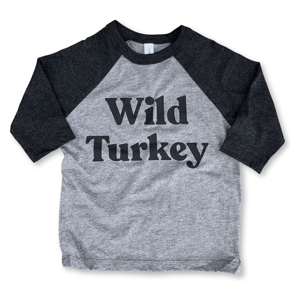 Wild Turkey Baseball Tee