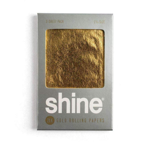 Shine 24K Gold Rolling Papers - 2-Sheet Pack