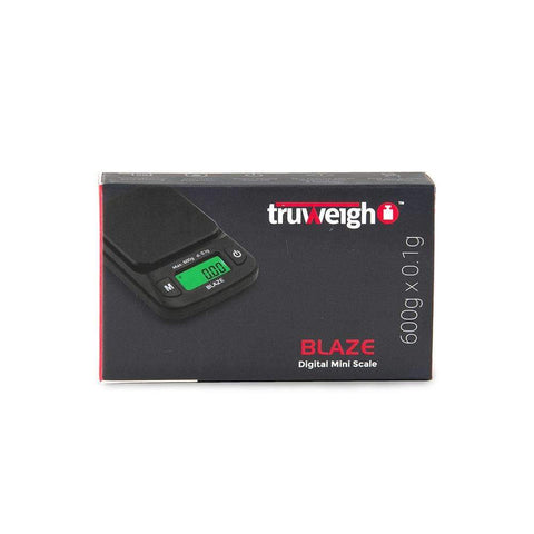 Truweigh Blaze Scale - 600g x 0.1g - Black