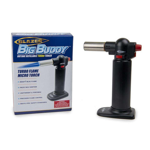 Blazer Big Buddy Turbo Torch - Black / Black