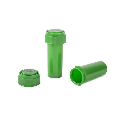 Loud Lock Green Reversible Cap Vials