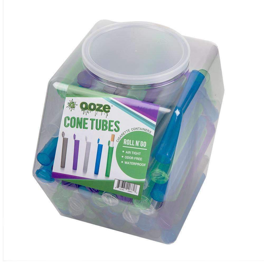 Cone Tube Storage Containers- 100ct