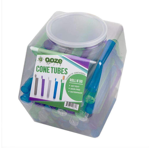 Ooze Blunt Tube Storage Containers- 100ct