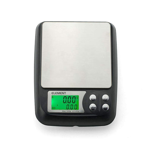 Truweigh Element DIY E-Liquid Scale - 500g x 0.01g - Black