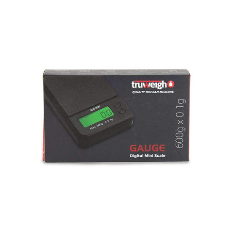 Truweigh Gauge Scale - 600g x 0.1g - Black