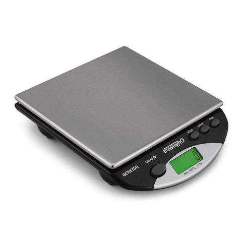 Truweigh General Compact Bench Scale - 8000g x 1g - Black