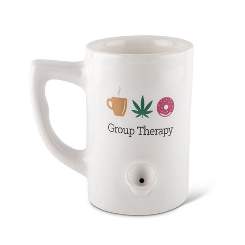 Group Therapy Porcelain Mug - White