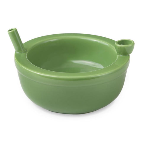Roast and Toast Cereal Bowl - Green - Pipe